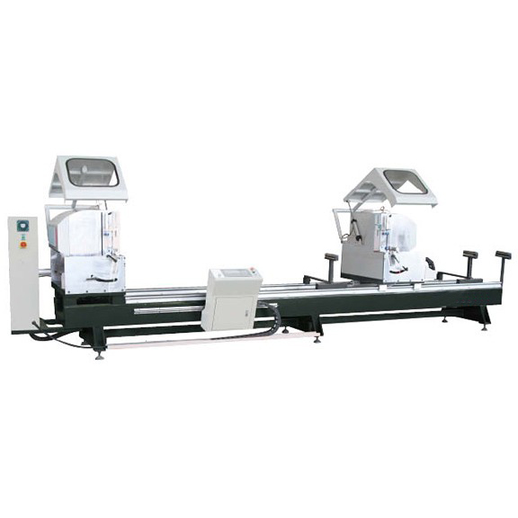 LJZ2-CNC-500×4200 Double-head cutting saw for PVC door & window