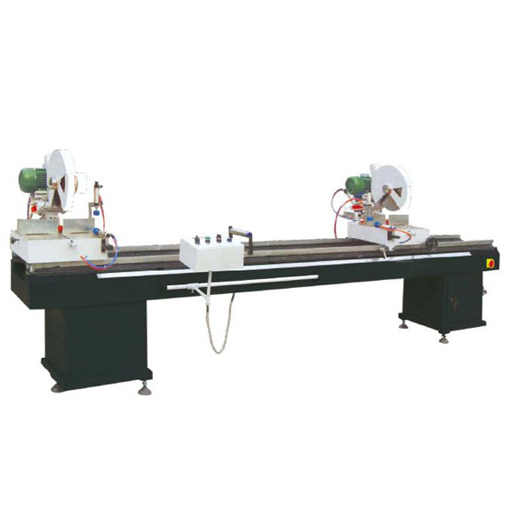 LJB2-350 ×3500 Aluminum and PVC profile double saw