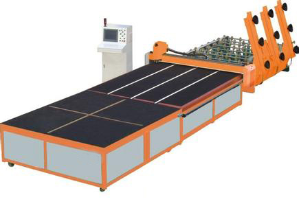 Full automatic glass cutting line